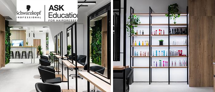 Európa legújabb fodrász  oktató központja – Schwarzkopf Professional ASK Academy Budapest